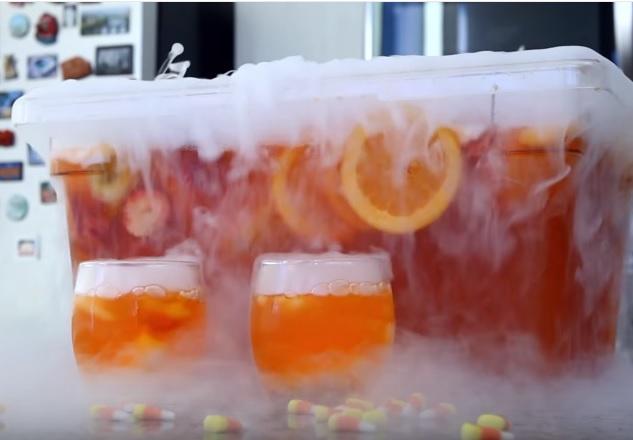 halloween punch recipe | halloween jungle juice
