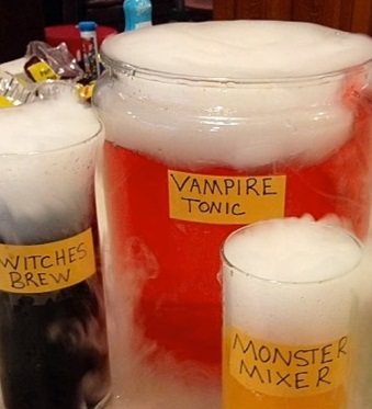 halloween punch recipe | mad scientist potions