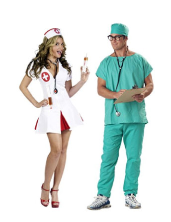 Doctor and nurse - halloween-couples-costumes