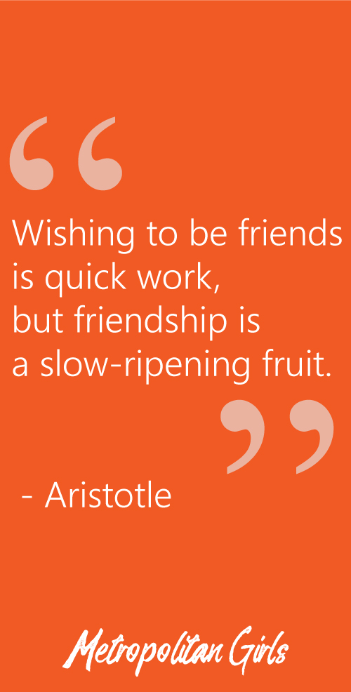 Aristotle Friendship Quote | Best Friend Day Quotes and Sayings