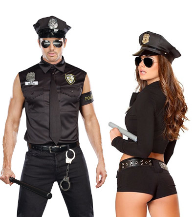 police couple costumes - halloween-couples-costumes