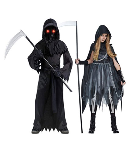Grim reaper couple costumes - halloween-couples-costumes