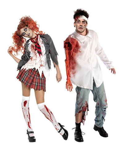 Zombie couple costume - halloween-couples-costumes