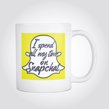 Snapchat Mug - christmas-gift-ideas-teen-girls