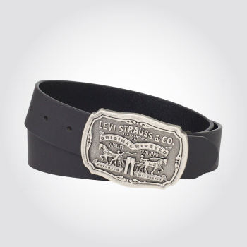 Levis leather belt - black
