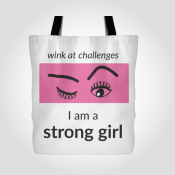 Wink at Challenges Bag - christmas-gift-ideas-teen-girls