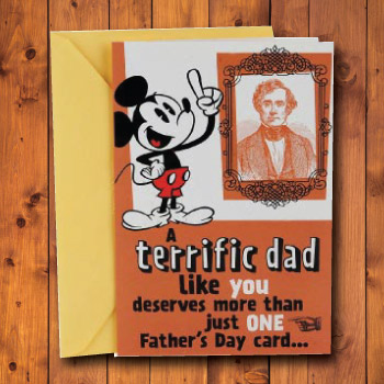 Terrific Dad Greeting Card