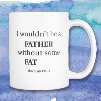 Funny coffee mug for dad - returning a dad joke back to him