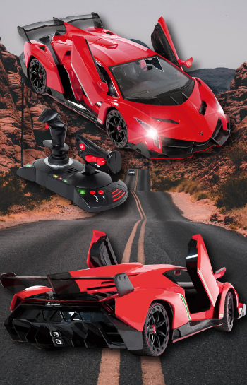 Red Lamborghini - what do teenage guys like - RC Remote Control Sports Car