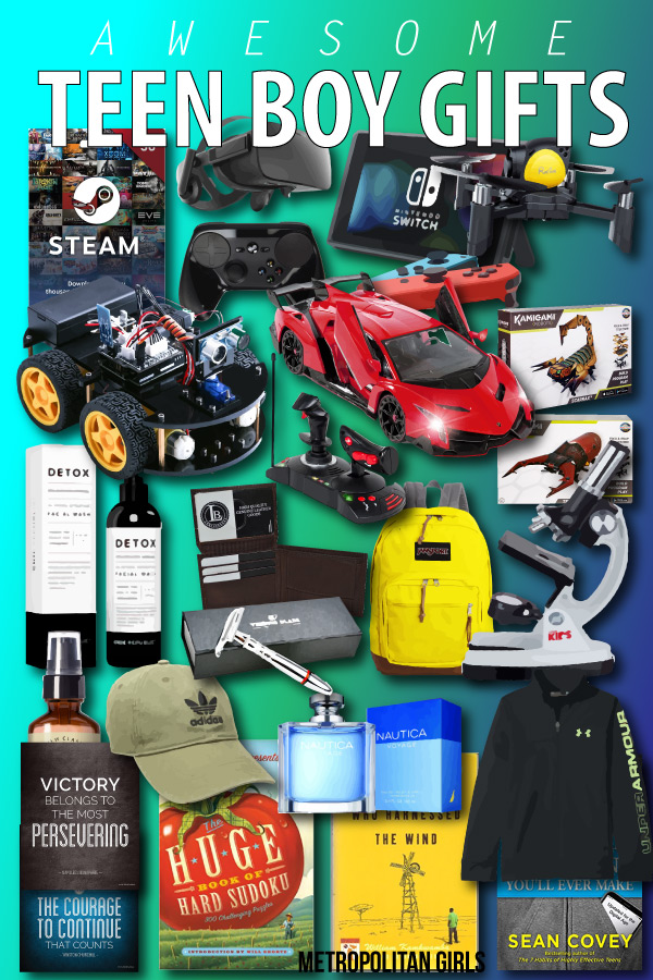 Top 35 Gifts For Teen Boys Teenage Guys Gift Ideas