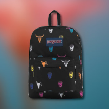 black backpack - practical valentine's day gift ideas for teens - school supply