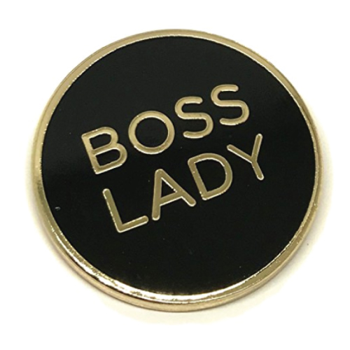 Boss Lady Lapel Pin