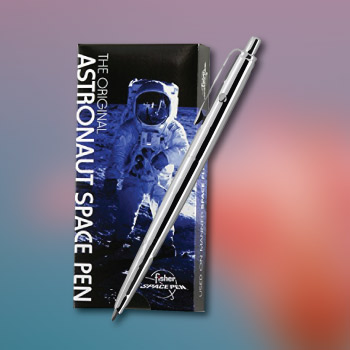 inspirational - gift with a story - the original space pen by fisher - special valentine's day gifts for him and for her