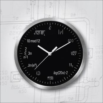Geek clock for geniuses