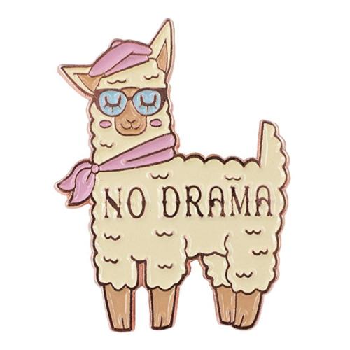 No Drama Llama Enamel Pin