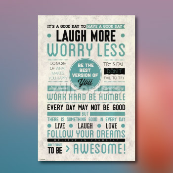 motivational poster - affordable and fun - valentine's day gift ideas 2018