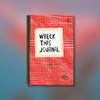 wreck this journal - creative valentines day gifts for teens