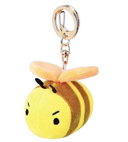 15+ Cute School Supplies for Kids: honeybee keychain backpack decor