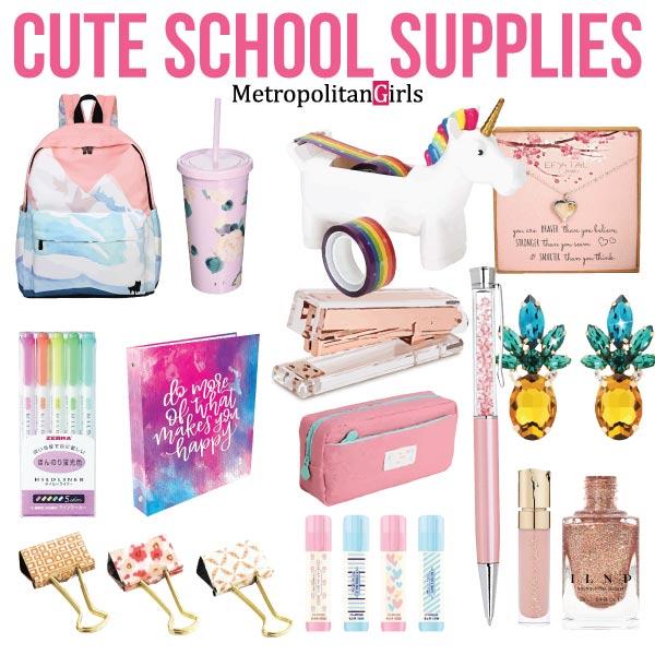 School Supplies Highschool