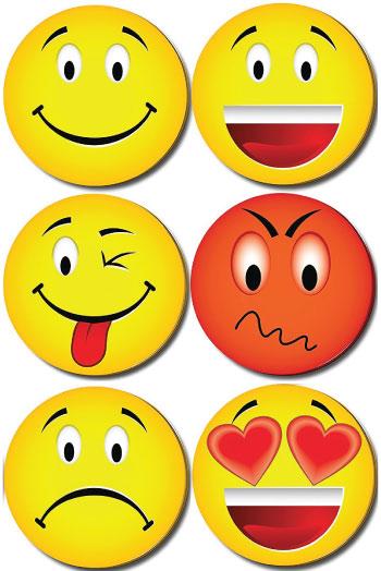 20 Emoji Back to School Supplies. Emoji sticky notes.