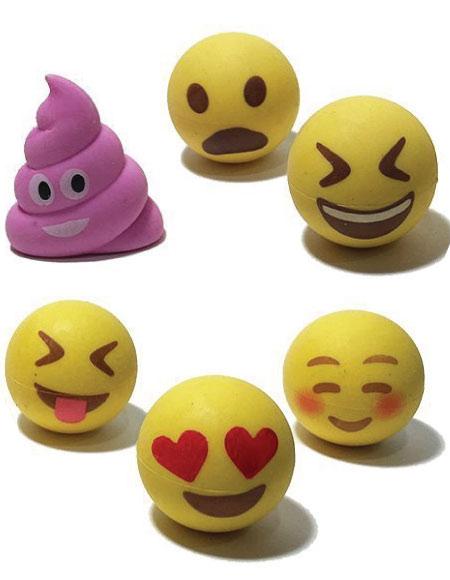 20 Emoji Back to School Supplies. Emoji pencil toppers.