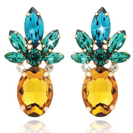 Pineapple Earrings - Cute Back to School Supplies for Girls