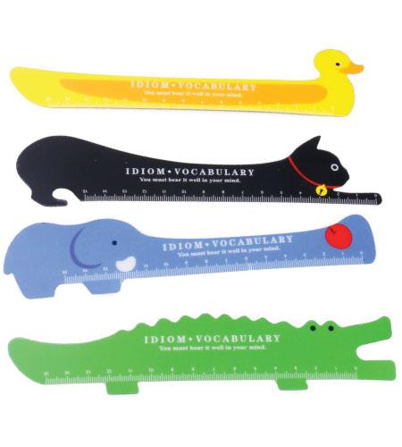 15+ Cute School Supplies for Kids: animal rulers