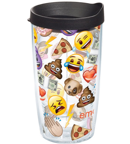 20 Emoji Back to School Supplies. Emoji Tumbler.