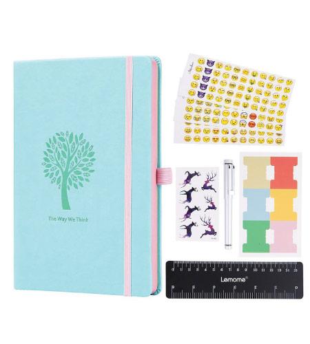 Bullet Journal - mint green back to school supplies
