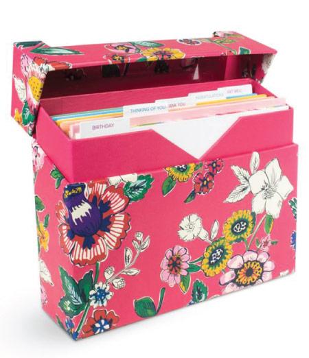 15 Cute Vera Bradley School Supplies - card set