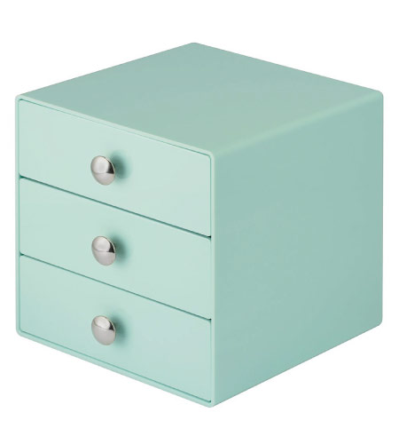 Drawers - mint green back to school supplies