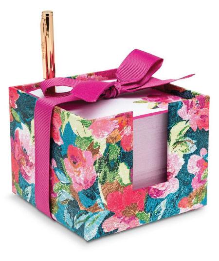 15 Cute Vera Bradley School Supplies - note cube