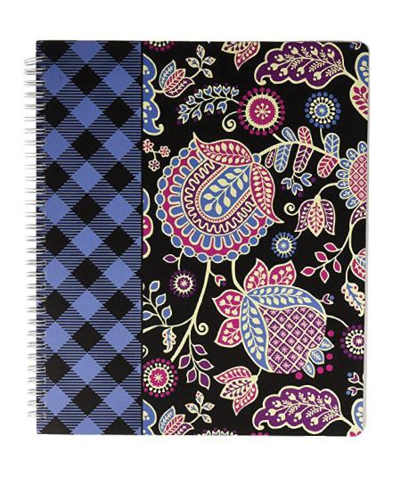 15 Cute Vera Bradley School Supplies - notebook with pocket