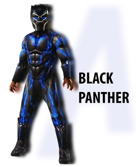 black panther - boy halloween costume