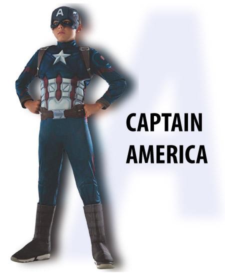 captain america - tween boy halloween costume