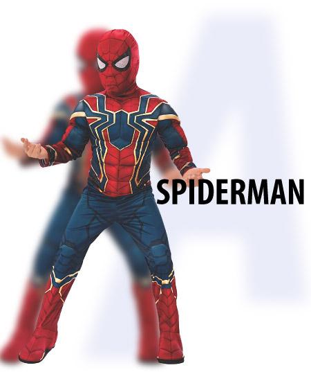 spiderman - tween-boys-halloween-costume-ideas