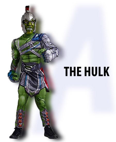 the hulk - tween boy halloween costume