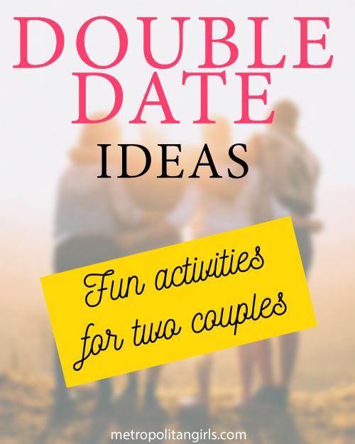 double date night ideas
