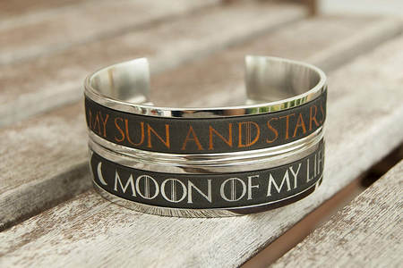 game of thrones got stainless steel bracelets