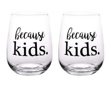 because kids. #wine #winelover #wineglasses