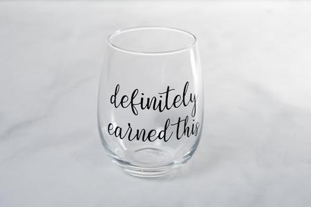 definitely earned this #wine #winelover #wineglasses