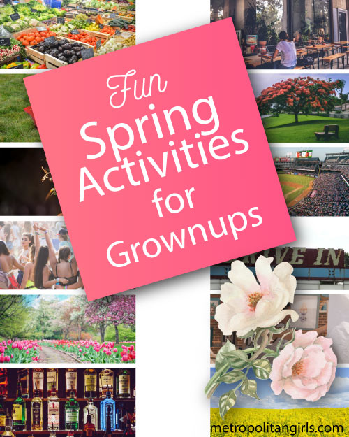 Things to do in Spring. Springtime activities for adult couples