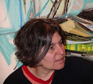 amy sillman. contemporary female american artist painter