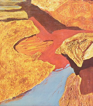 ledge of light 1974 painting by jane frank