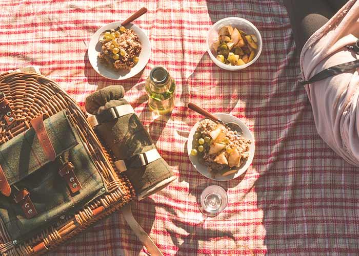 save money picnic date