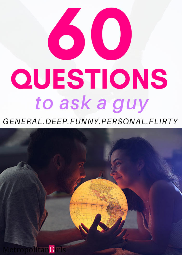 60 Questions You Should Ask Your Crush -- to Learn More About Them