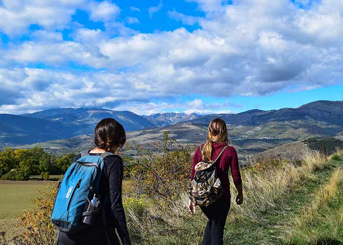 trekking and nature trailing