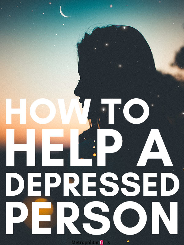 ways to help a depressed friend