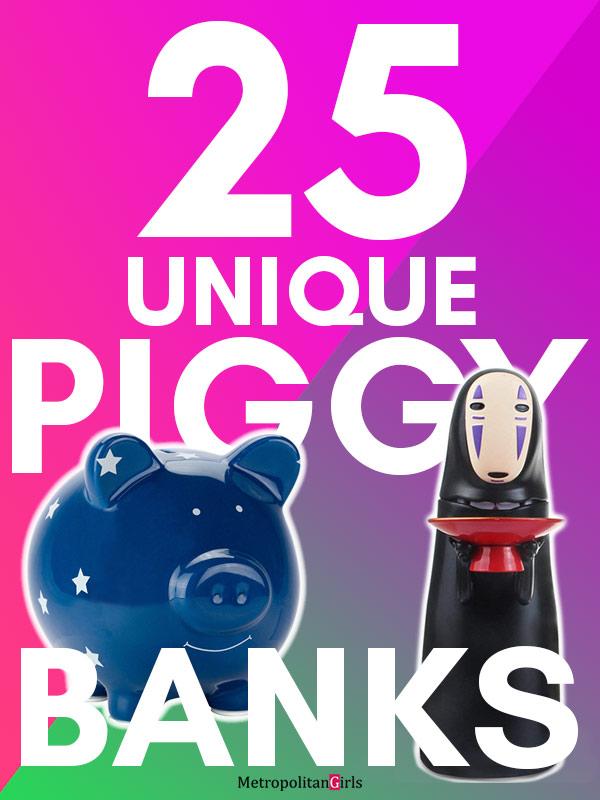 25 Unique Piggy Banks