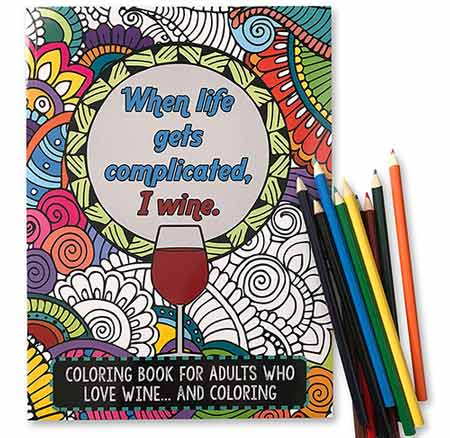 Funny Adult Coloring Book | baby-shower-hostess-gift-ideas